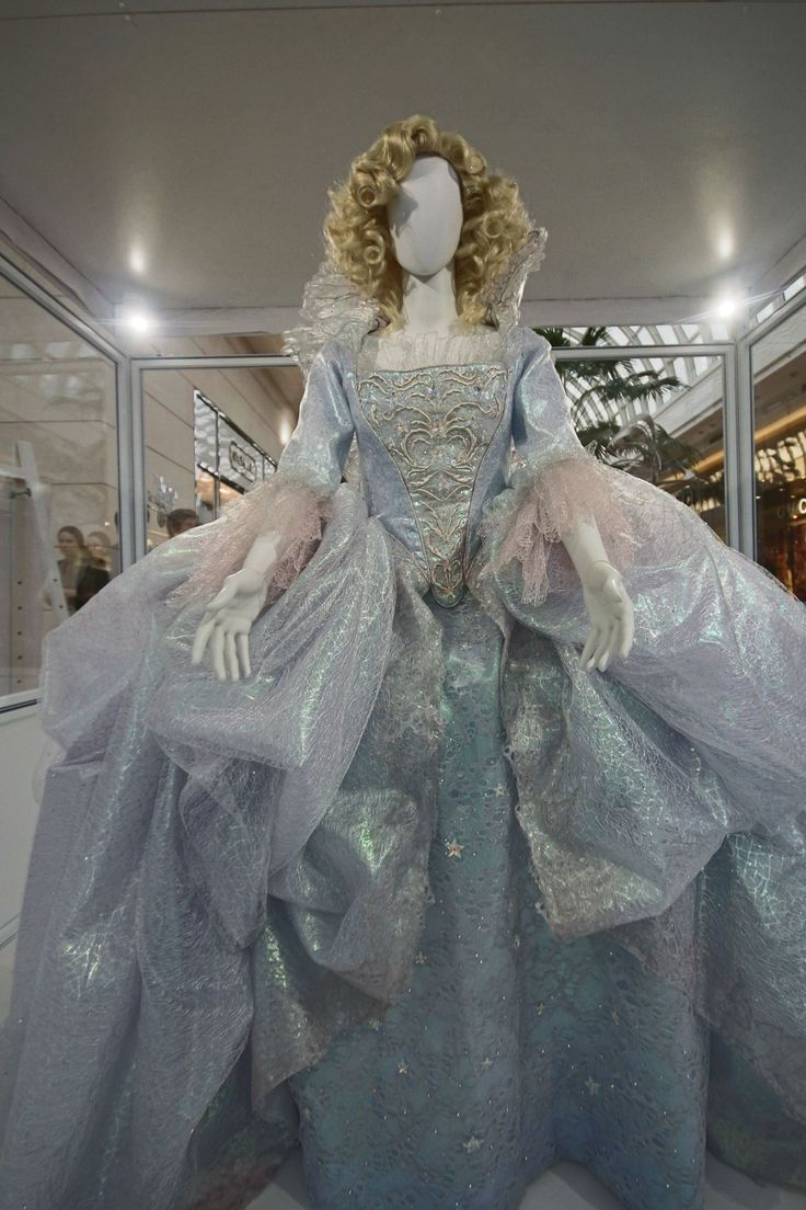 the fairy godmothers gown from cinderella 2015