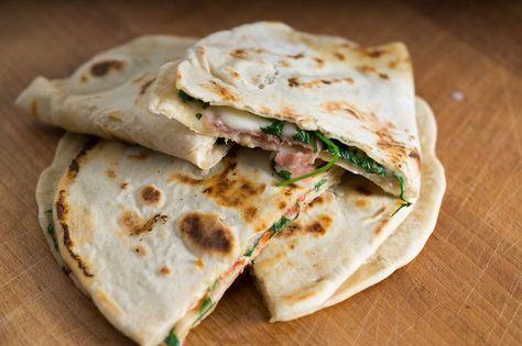 Piadina auf Der Leckerbissen Food Blog