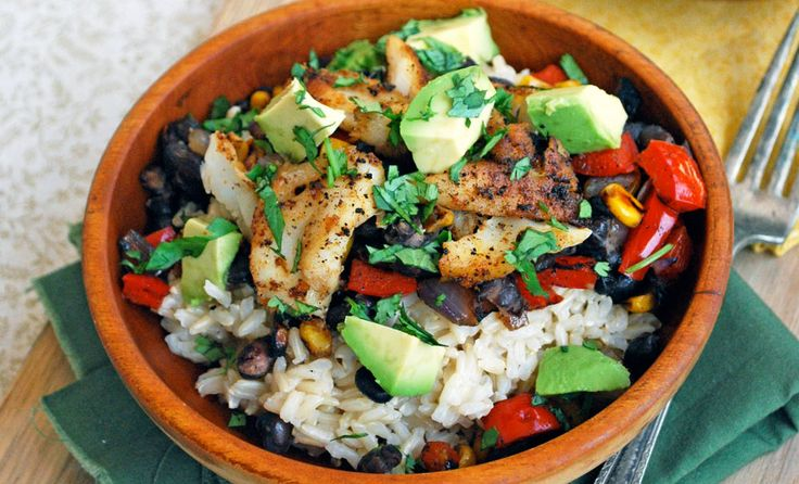 Fish Taco Bowls | Recipes | NoshOn.It