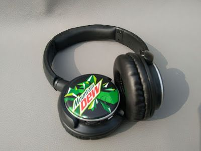 Scorpion Production: Printed HEADPHONES - FOR SALE