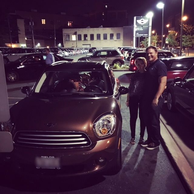 Congratulations to Joe and Alexandra on the purchase of their new (pre-loved) 2013 MINI Countryman, in Brilliant Copper. Joe & Alexandra purchased with our team member, Devin at our MINI Dealership in Chicago. Welcome to the #MINIofChicago family! Happy Motoring! :-) #newMINI #congratulations #MINIClub #MINIOwners #newMINIs
