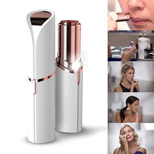 Bonjouree Épilation Visage Femme Épilateur Sans Douleur: Enlève les poils faciaux instantanément et sans douleur de la lèvre, des joues;…