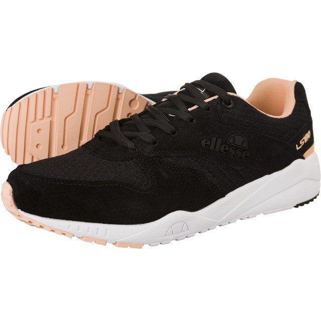Sportowe Damskie Ellesse Ellesse Czarne Ls180 Trainer Black Pink 234 Black Pink Shoes Baby Shoes