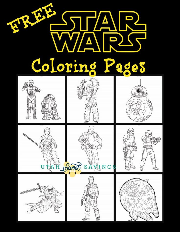 230 best our collection images on pinterest beauty for Star wars bb8 coloring pages