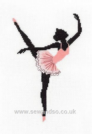 Ballerina - Sew and So - classic embroidery