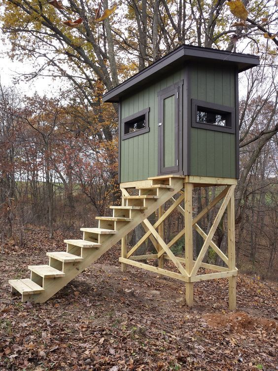 20 Free DIY Deer Stand Plans and Ideas Perfect for Hunting