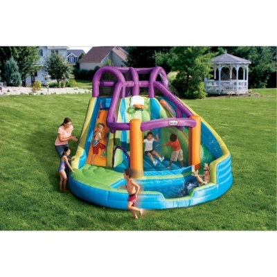 Little Tikes Outdoor Equipment Bouncer Water Slides
