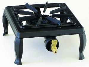 "The 63-5111 is a single burner hotplate in our line of economy cast iron stoves. This unit is manufactured from durable cast iron. They are lightweight and totally portable. The burner produces 15,000 BTU of heat. This unit is recommended for light restaurant and catering applications.  Dimensions: 63-5111 10.5"" x 11"" x 5-3/4""."
