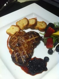 Fois Gras - Made back in my restaurant days! Very delicious I might add!  www.seerecipe.com