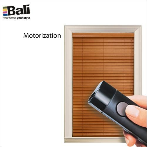 2 northern heights wood products bali and people for Bali blinds motorized remote control