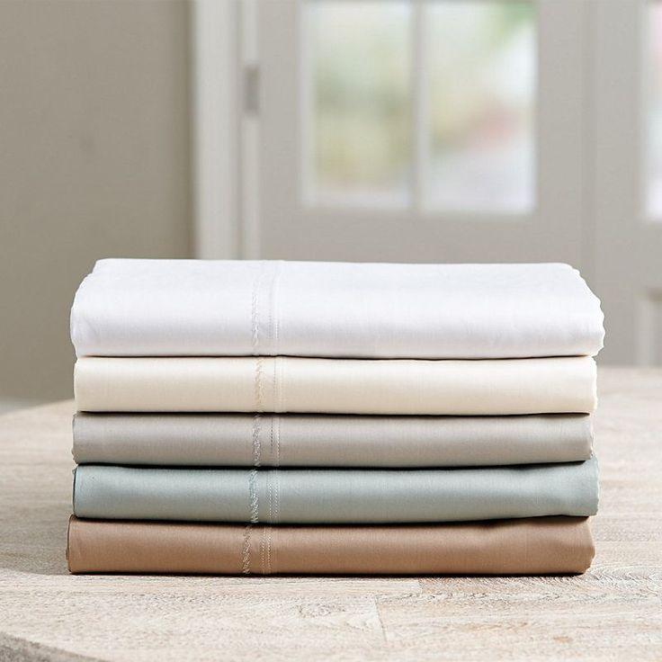 Casa Florentina Sateen Pillowcases - Set of 2