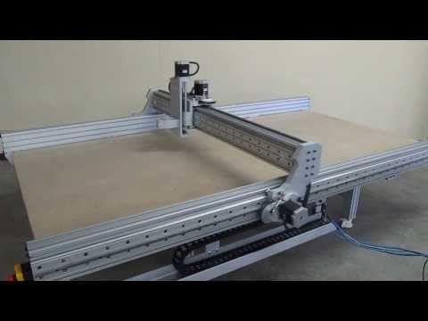 PROBOTIX 5 x 9 CNC Router Demo - YouTube