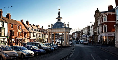 Market Town Of Beverley East Yorkshire - has a lovely cathedral too