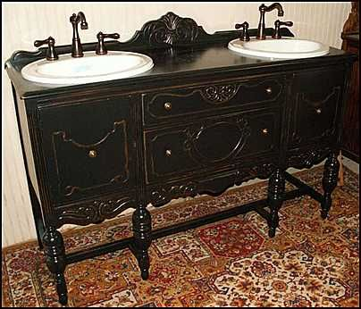 Antique Vanity Bathroom Sink