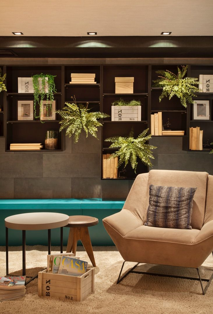 Sala De Estar O Living ~ Eloy & Freitas  Arquitetura + Design  DECORA LIDER 2014  FAVELA