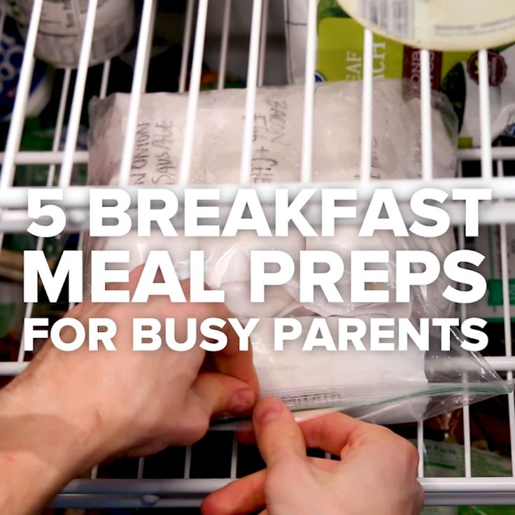 5 Breakfast Meal Preps For Busy Parents // #breakfast #parents #kids #mealprep #tasty