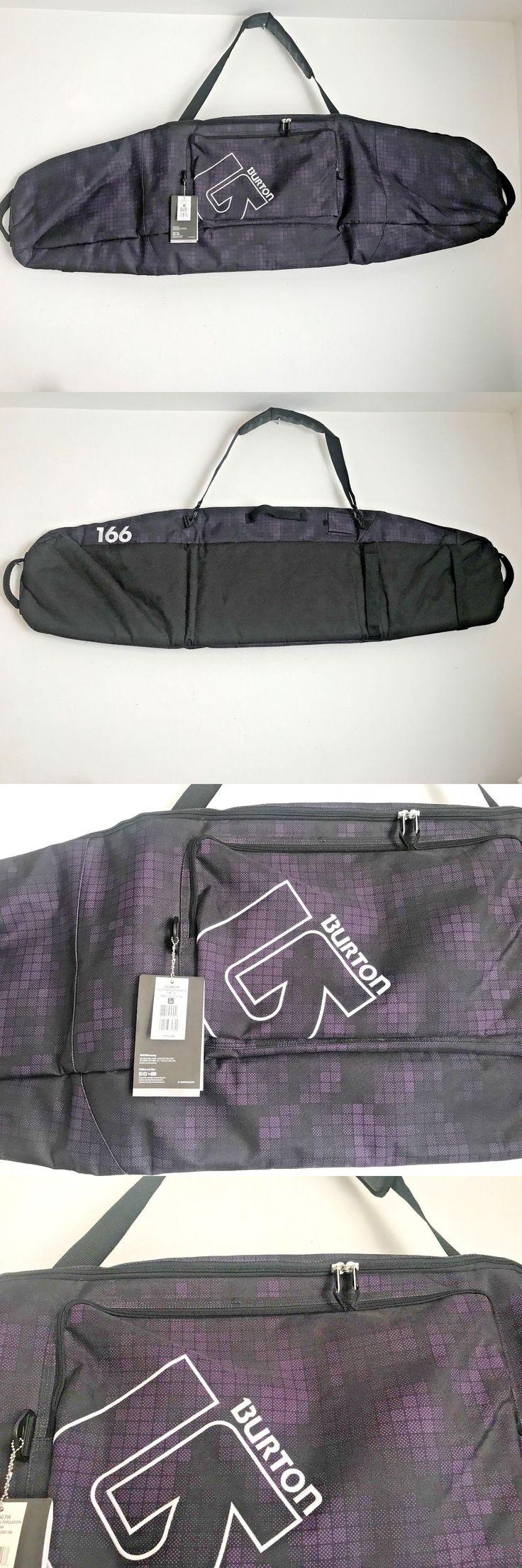 Other Snowboarding 159155: New Gig Bag Snowboard Bag Ski Bag 2016 Burton Purple 166 -> BUY IT NOW ONLY: $49.99 on eBay!