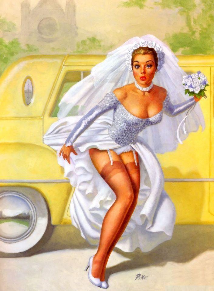 Свадьба пин-ап