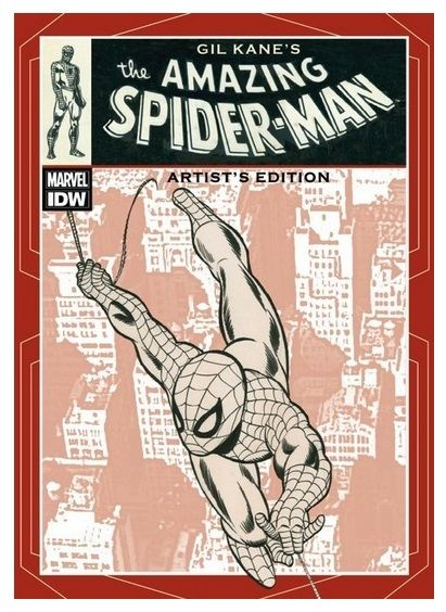 Gil Kane's 'The Amazing Spider-Man' Artist's Edition. Includes The Amazing Spider-Man 96-102 and 121 by Stan Lee, Roy Thomas, Gerry Conway and Gil Kane. Publication Date: January 2013.