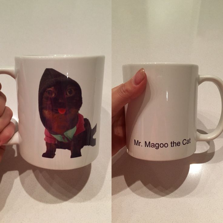 Magoo Mugs $17.00 email mrmagoothecat@hotmail.com to get one!
