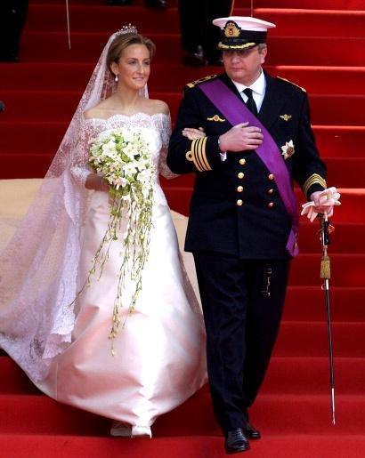 Wedding Dresses  Belgium : Belgian royals celebrate th anniversary