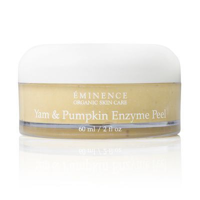 Yam & Pumpkin Enzyme Peel. Accelerate the exfoliation process with this enzyme peel that removes dead skin cells. #organic #skincare #holidays