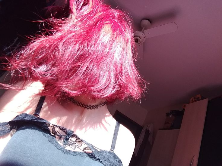#redhair #cuthair #vintage #old #pink #choker #girl #tumblr #anything