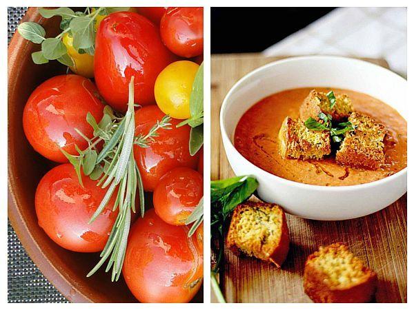 Supa rece de roșii cu busuioc – rețetă cu beneficii