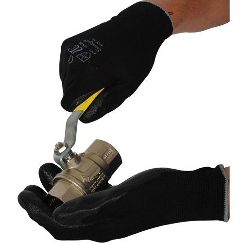 Nitrile Coated Grip Gloves