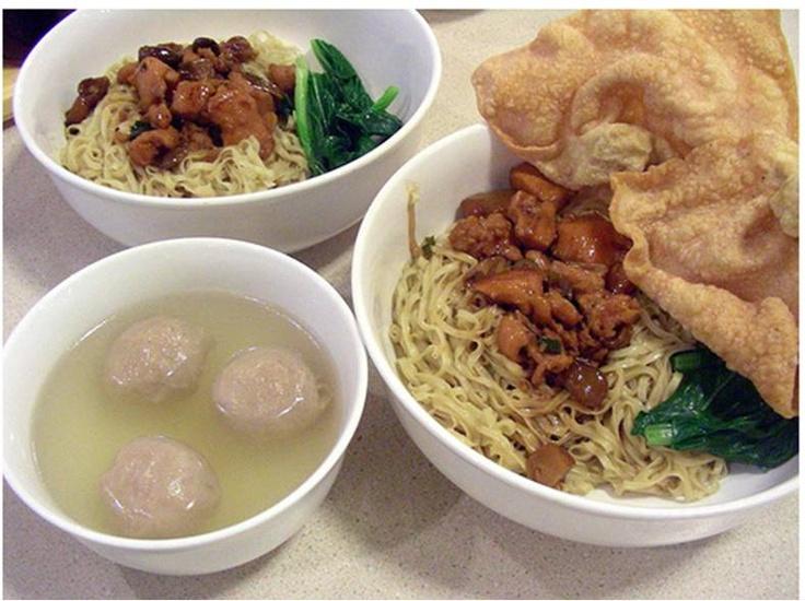 Bakmi Gajah Mada - would LOVE to eat this again one day