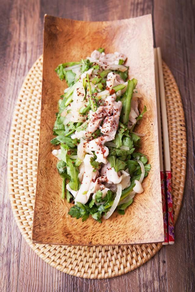 【体脂肪率が低い方へ】お鍋だけではもったいない!春菊エスニックサラダでインフルエンザ予防を。