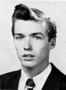 Clint Eastwood's high school graduation photo - 1949 -- from Oakland Tech.