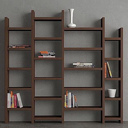 Kitaplık - Ladder Kitaplik Wenge