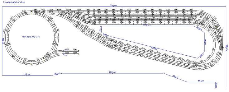 gleisplan schattenbahnhof oben anlage ralf b ker modellbahn pinterest modelleisenbahn. Black Bedroom Furniture Sets. Home Design Ideas