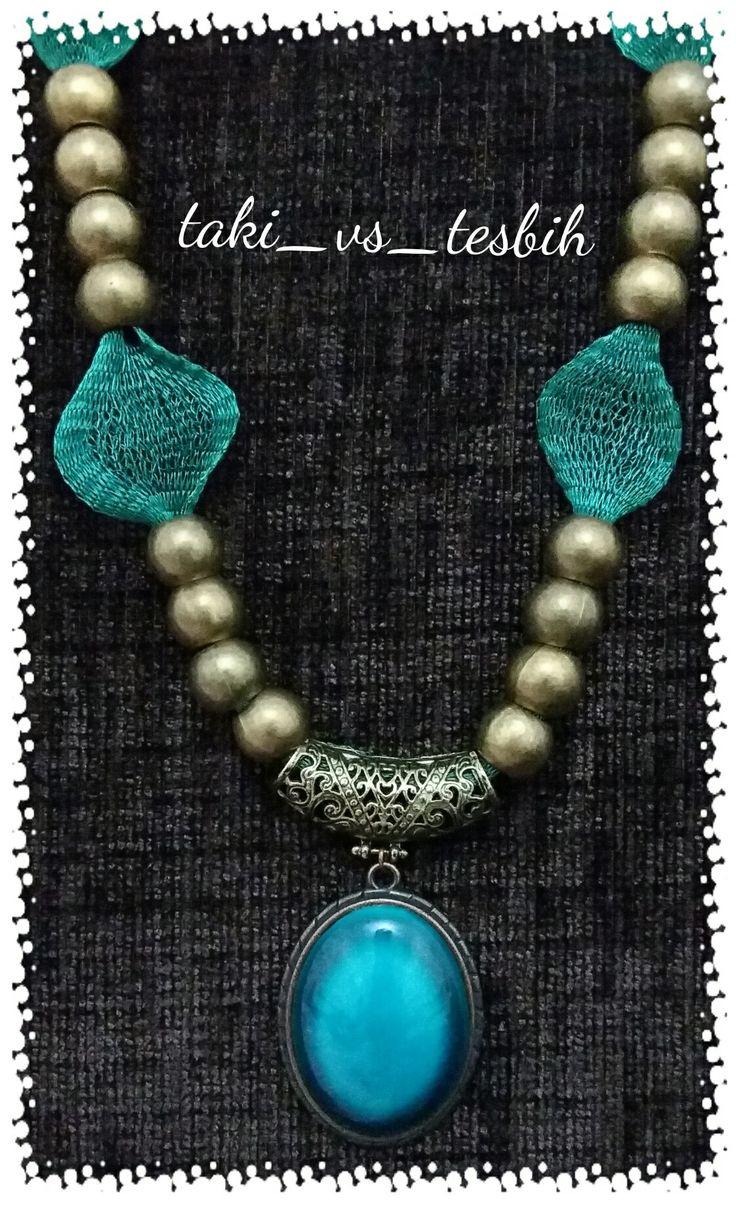 Otantik el yapımı kolye Handmade necklace.....