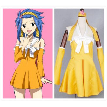 Fairy Tail cosplay Levy Mcgarden costumes Free Shipping Worldwide sales $ 80