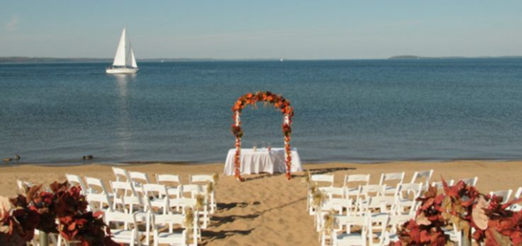 Traverse City Weddings - Wedding & Special Event Space at the Holiday Inn Resort West Bay | www.partyista.com
