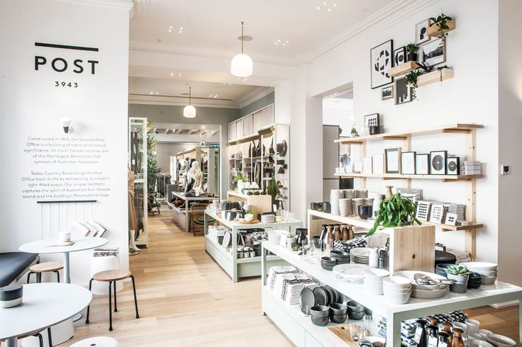 Country Road Sorrento - MELBOURNE GIRL - Lifestyle concept store located within the historic post office on Victoria's Mornington Peninsula.