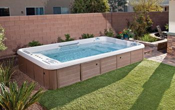 Swim Spa Backyard Designs swim spa: swim spa deck designs