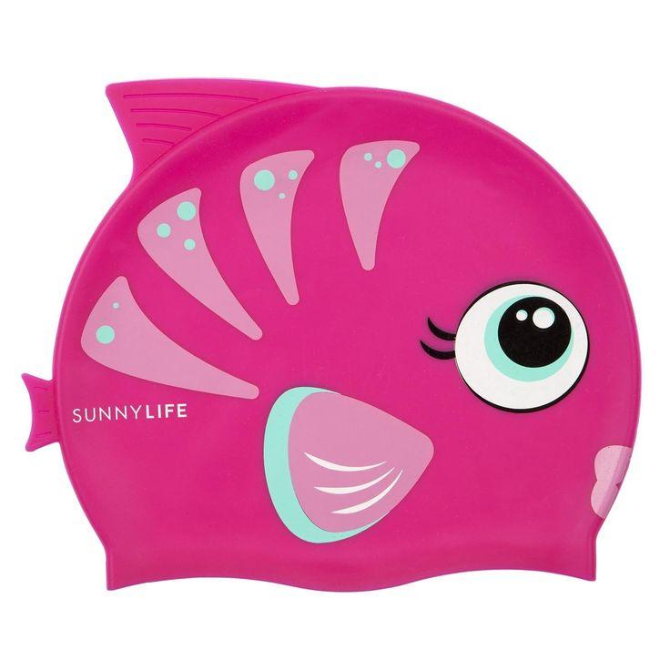 SunnyLIFE - Swimming Cap Fishy In Pink