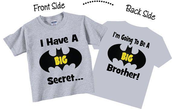 Tengo un secreto voy a ser un gran hermano camisas y por TheCuteTee