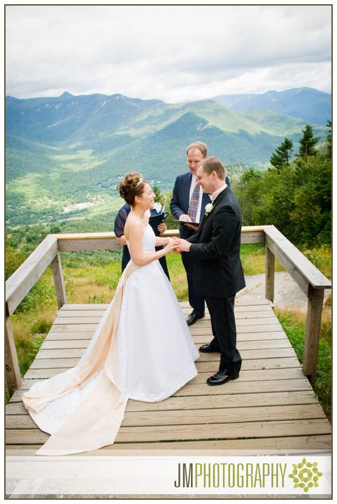 loon mountain nh photography bride groom wedding vows