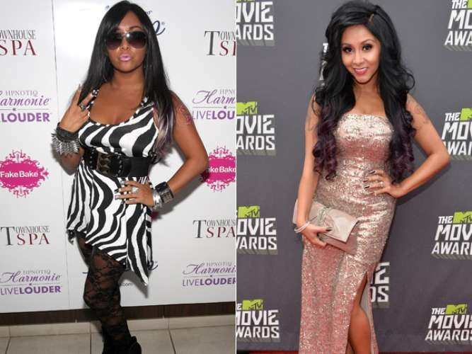 SNOOKIE (JERSEY SHORE)  #FAMOSAS #CELEBS #STAR #GORDAS #FLACAS #PESO #TRANSFORMACIÓN #BIG SIZE #SMALL SIZE #CHANGE #NOW #THEN