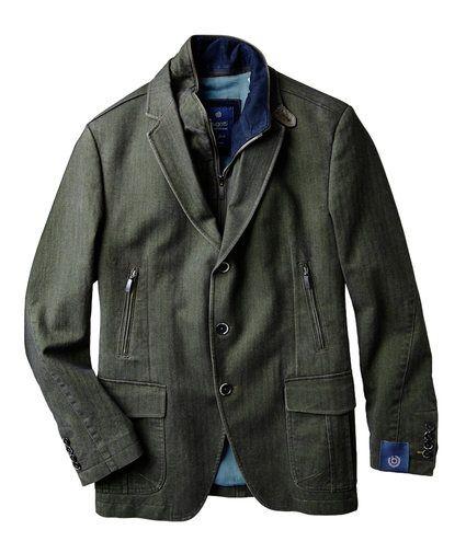 Herringbone Corduroy Jacket size 42 mens tall