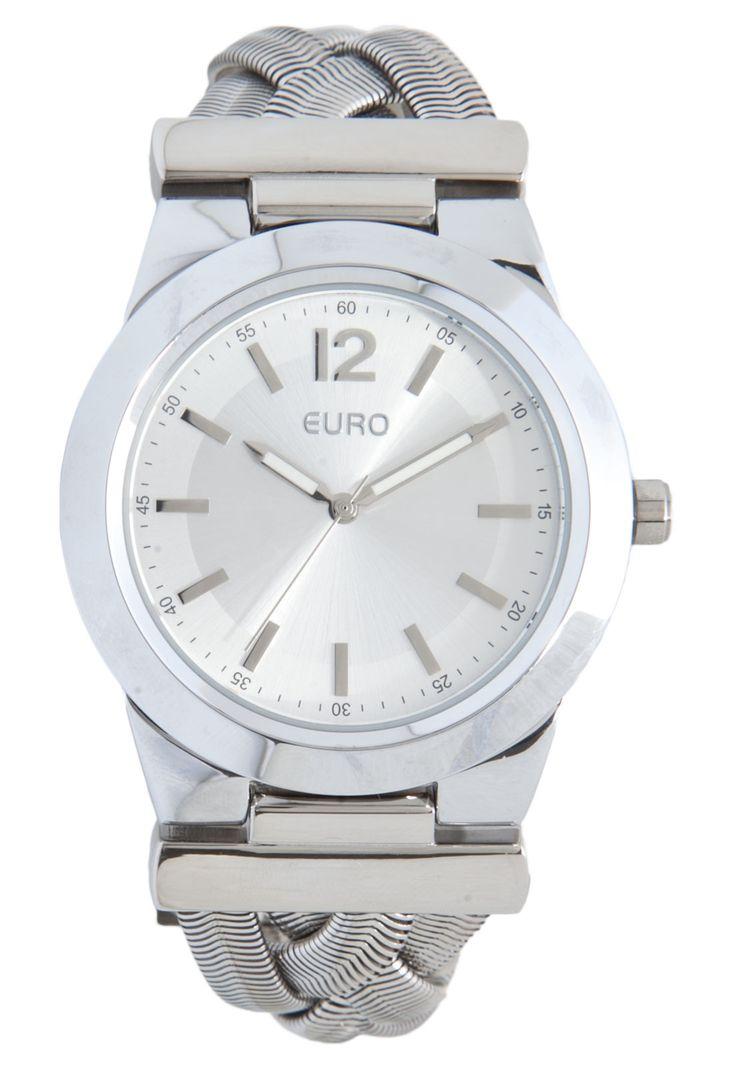 Relógio Euro EU2035LVE3K Prata - Marca Euro