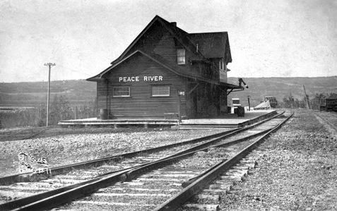 Peace River N.A.R. Station Provincial Historic Resource (date unknown) Provincial Archives of Alberta, A.14075