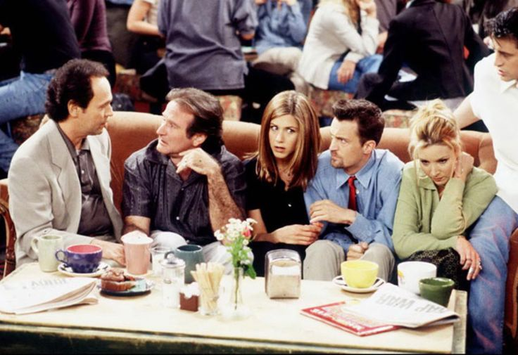 "Billy Crystal and Robin Williams on ""Friends"""