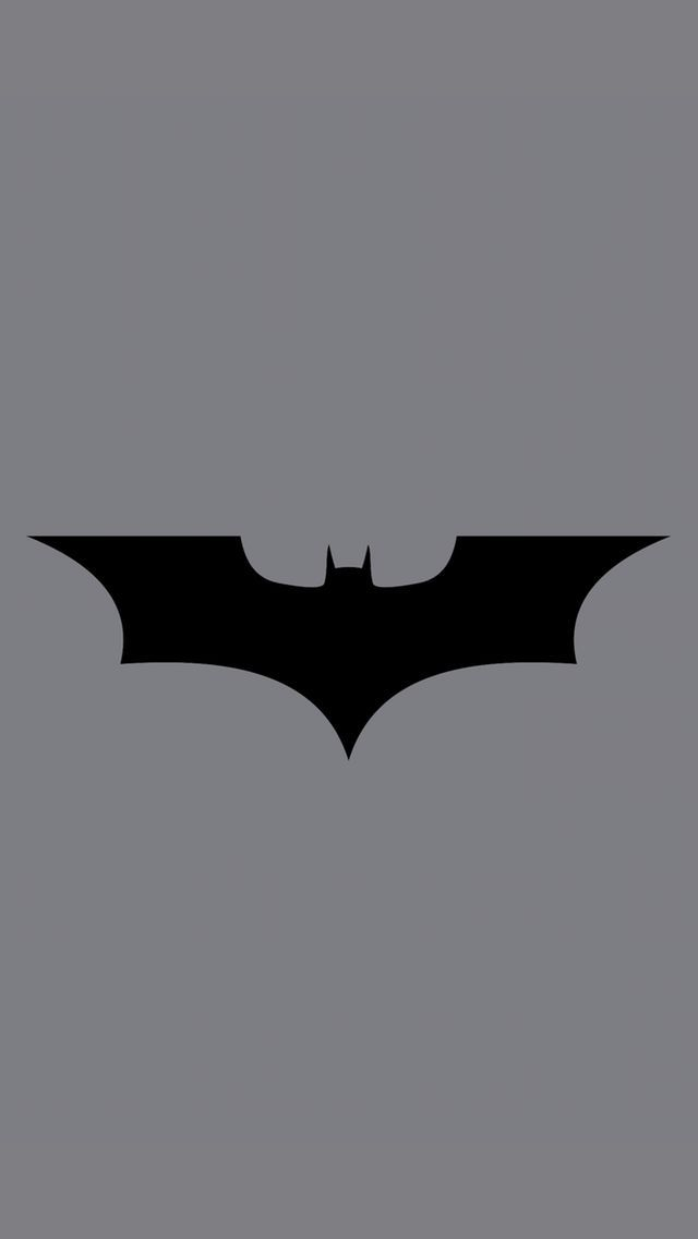 ↑↑TAP AND GET THE FREE APP! Art Creative Black White Logo Batman HD iPhone Wallpaper
