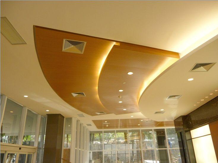 137 best images about plafones recubrimientos paneles y - Plafones para techo ...