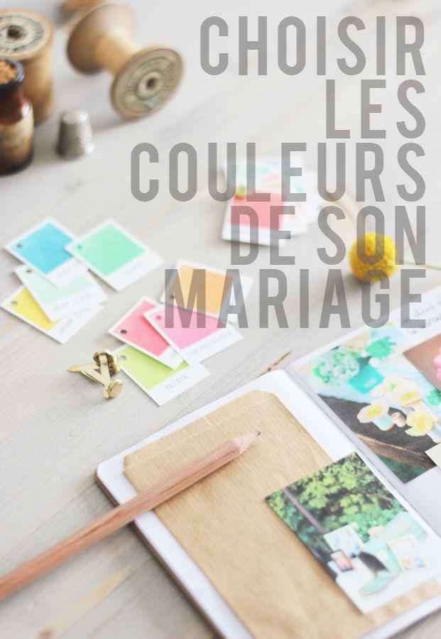 ©La mariee aux pieds nus - Choisir les couleurs de son mariage - Palette de couleurs a telecharger #free printable #color chart #wedding
